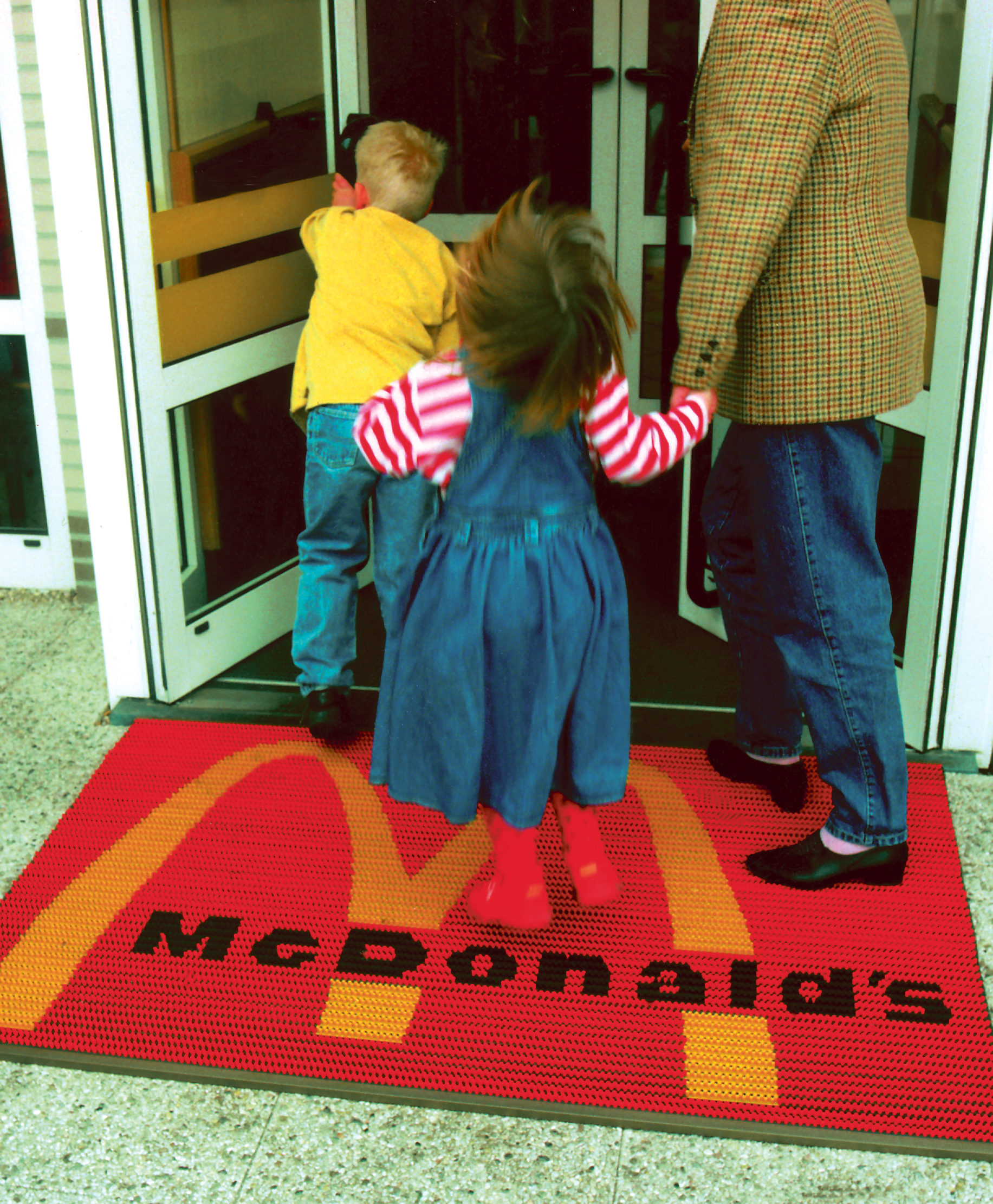 Mc-donalds brushmat
